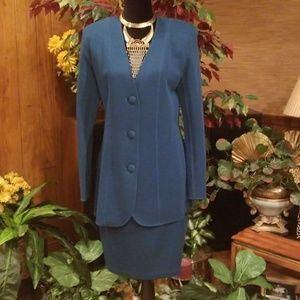 Vintage Andrea Jovine Essentials Skirt Suit
